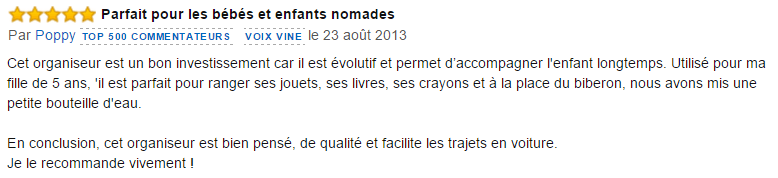 commentaires amazon