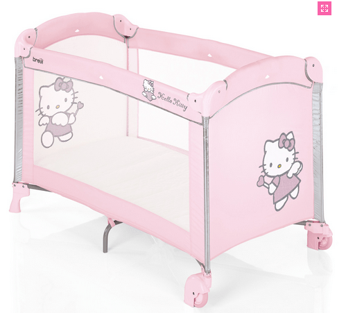 Lit parapluie rose Hello Kitty