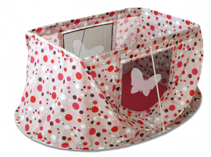 MAGICBED Lit Parapluie Pop-up Bébé Pois Rose